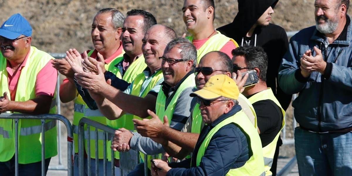 Portugal raciona el combustible por una huelga de camioneros