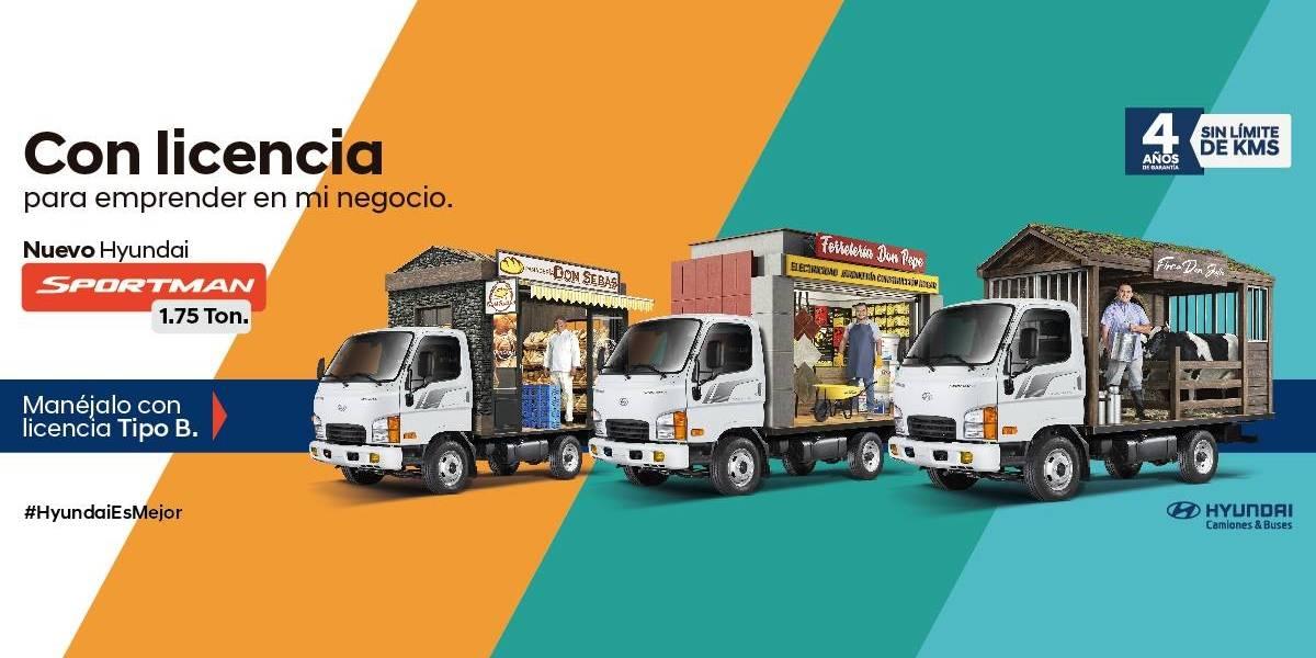 Sportman se suma a la familia de camiones livianos de Hyundai: características y precio