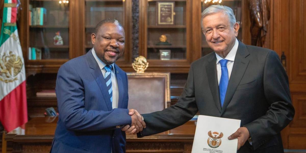 AMLO recibe a embajadores de Indonesia, Sudáfrica, Nicaragua y China