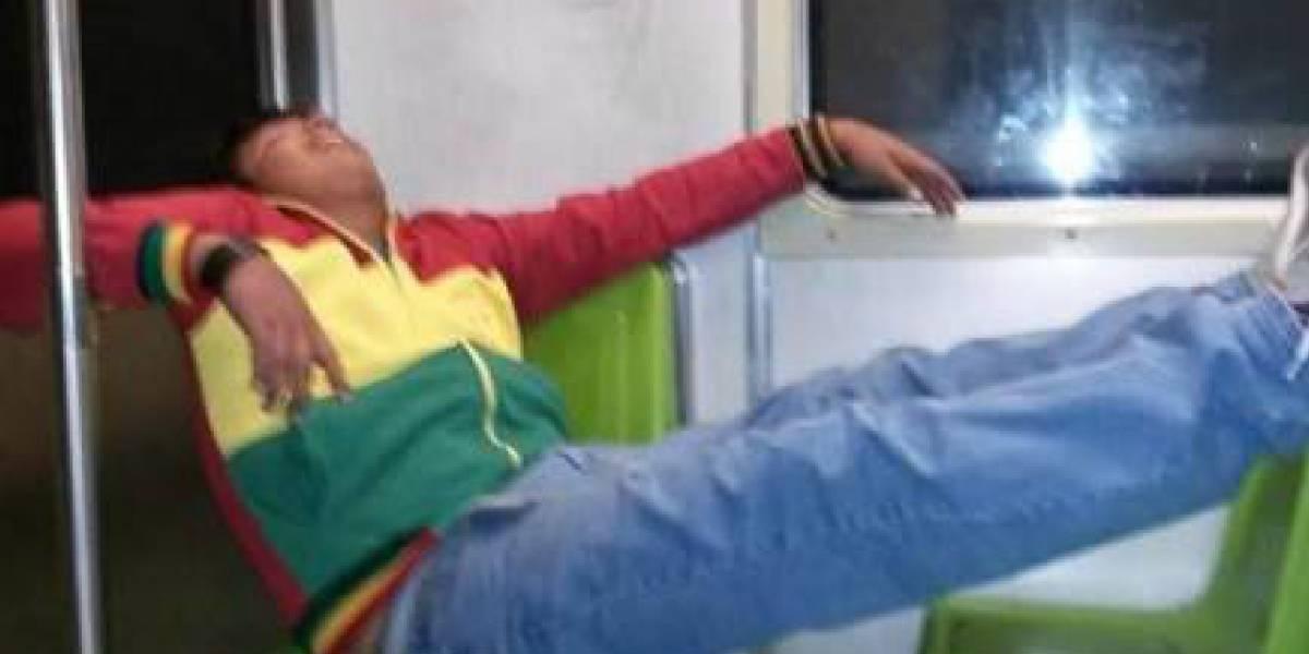 CDMX: Te pueden multar por quedarte dormido en el Metro