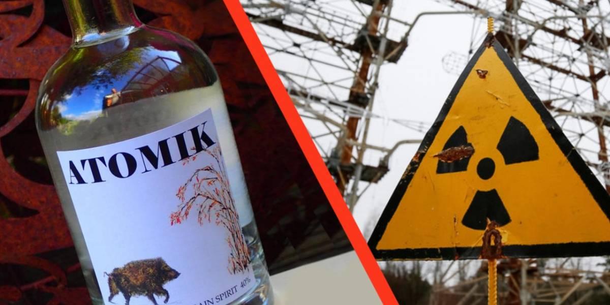 Atomik es el vodka hecho con ingredientes radioactivos de Chernobyl