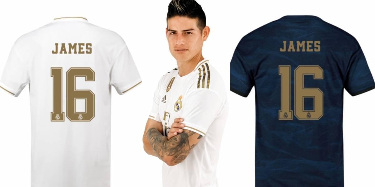 sports shoes e8501 90bcf VIDEO | ¿Hay o no venta de camiseta 16 de James Rodríguez en ...