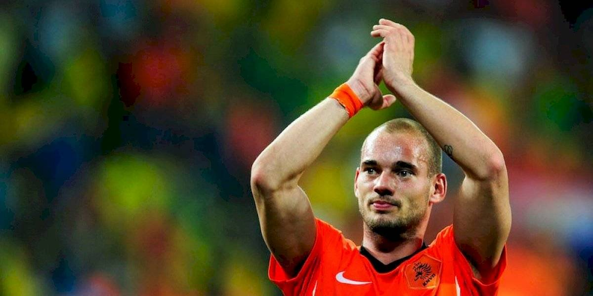 Wesley Sneijder asombra con su cambio físico a dos semanas de haberse retirado