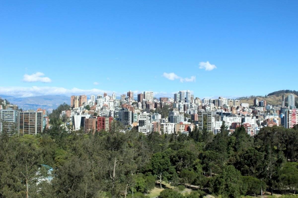 Radiación UV en Quito
