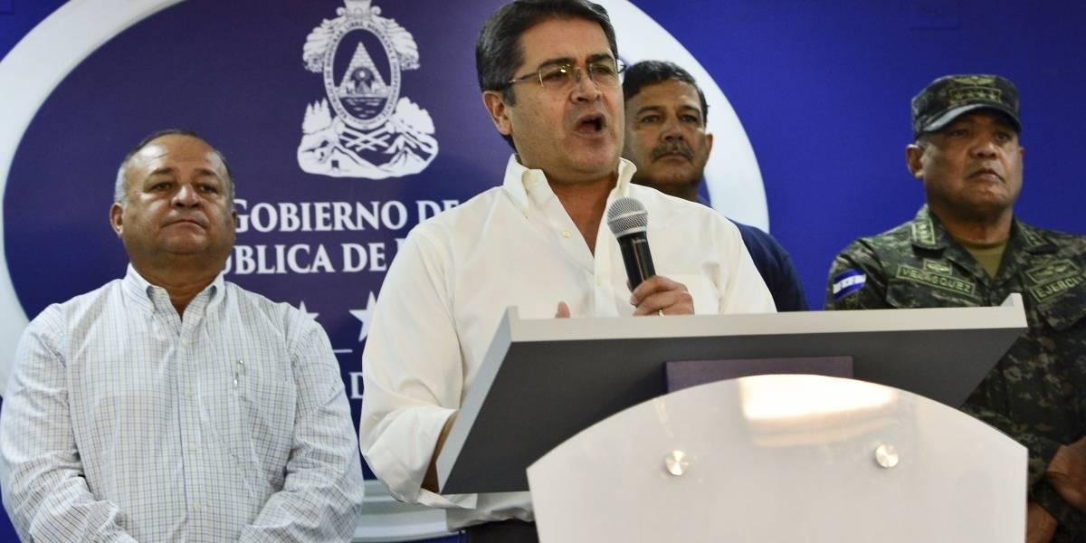 Juan Orlando Hernández niega cargos por narcotráfico en Washington
