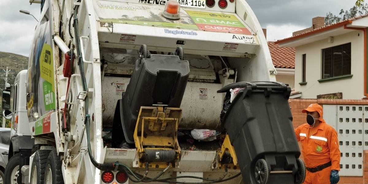 Nuevos horarios de recolección de basura se aplica en Cuenca