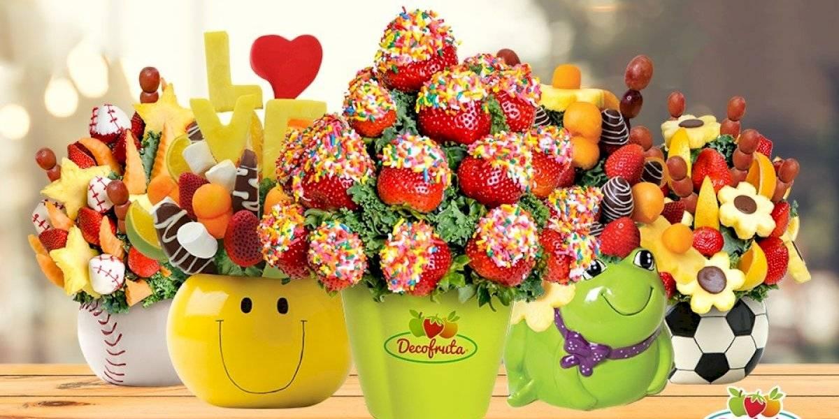 ¡Regala sentimientos! Cambia las tradicionales flores por espectaculares arreglos frutales