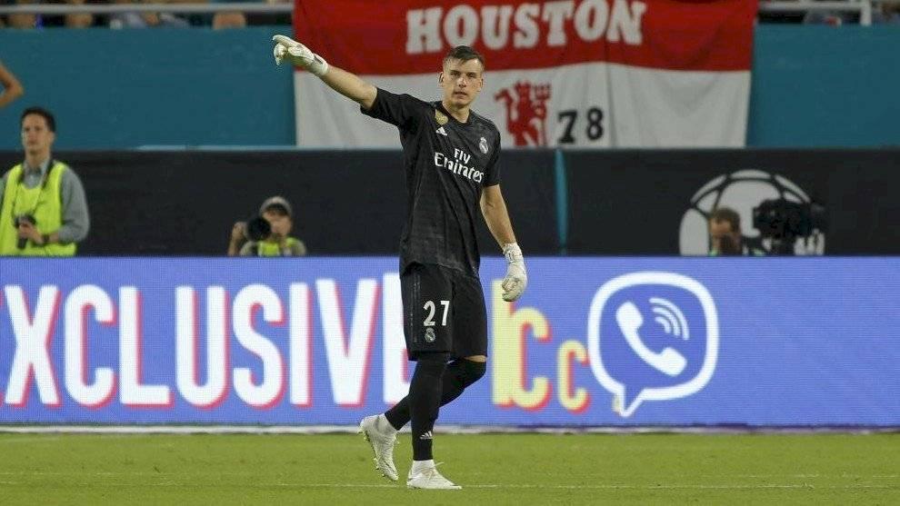 Altube será el tercer portero del Real Madrid