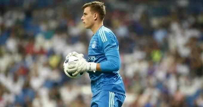 Andriy Lunin se va al Valladolid