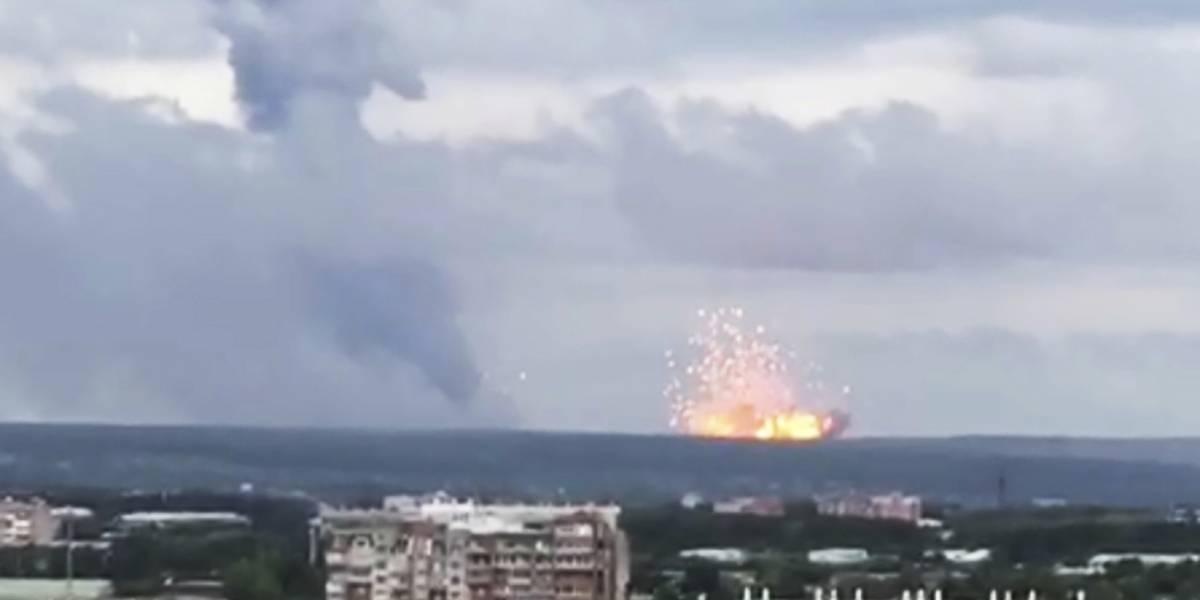 Aumento de radiación: Rusia aconseja desalojo en aldea tras explosión de cohete nuclear