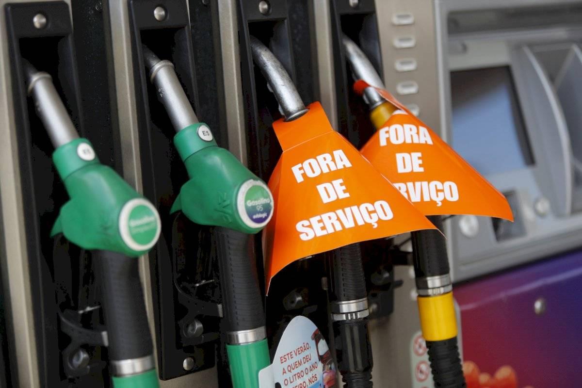 Imágenes de la crisis de combustibles en Portugal Foto: AP