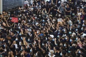 Manifestaciones en Hong Kong