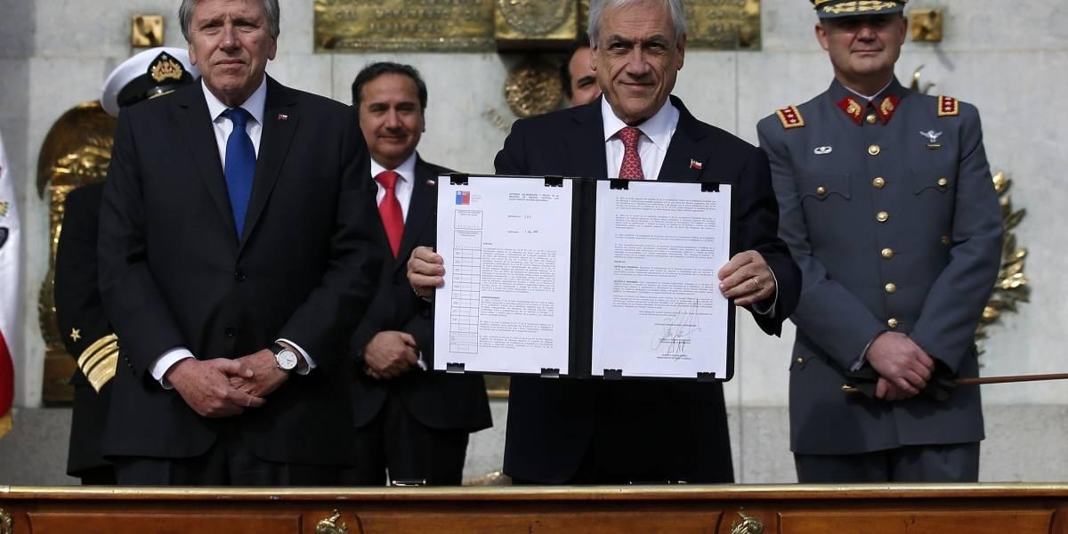 Pasó por Contraloría y ya está en vigencia: Diario Oficial publicó decreto que autoriza apoyo de FFAA contra el narcotráfico en las fronteras