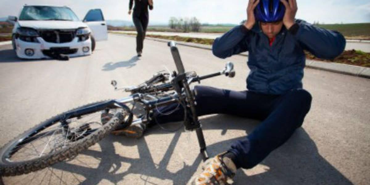 Qué hacer si atropellaste a un motociclista o ciclista y a quién acudir