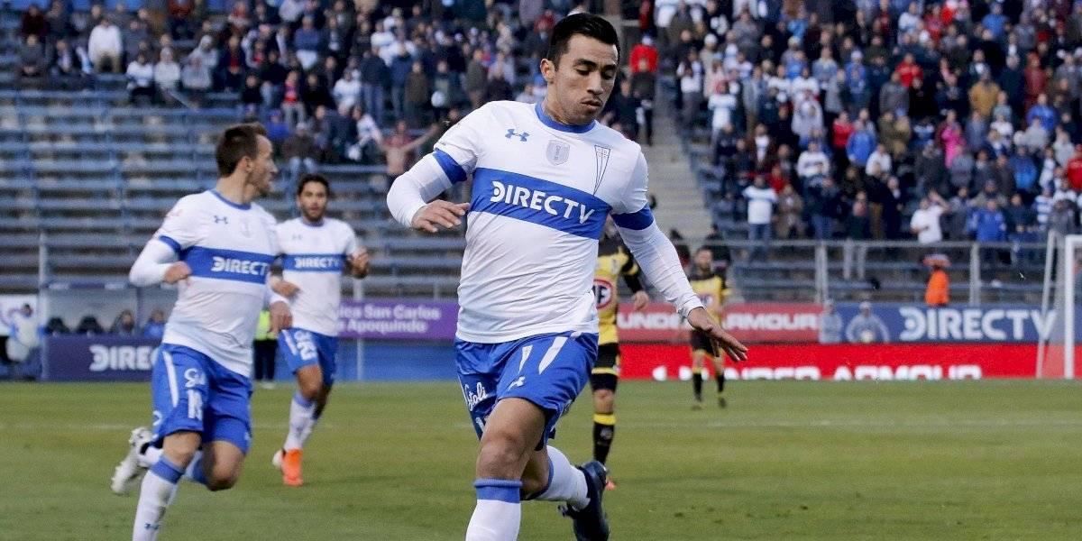 Edson Puch no entrenó en la UC y se convierte en la gran duda para enfrentar a Everton