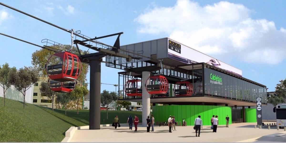 Anuncian la creación de dos líneas de cablebús en la capital