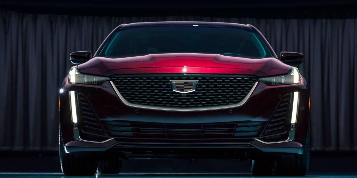 Así es Cadillac CT5, espectacular...