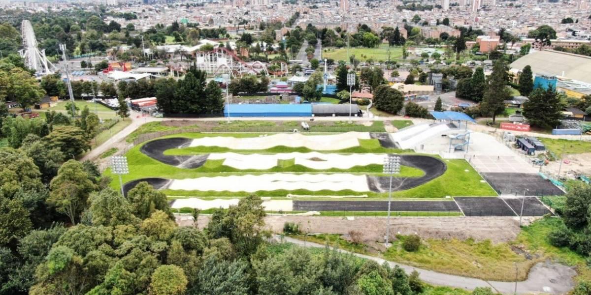 Inauguran la primera pista profesional de BMX en Bogotá