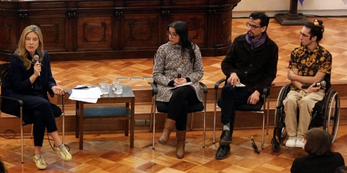 Estudiantes de pregrado discapacitados reciben potente respaldo en la U de Chile