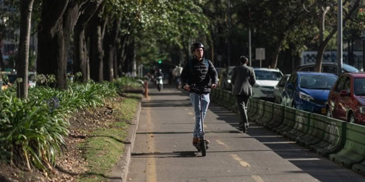 Estos son los sectores autorizados para alquiler de patinetas en Bogotá