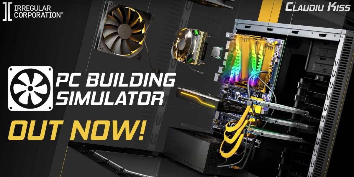 Game PC Building Simulator chega nesta terça-feira para PS4