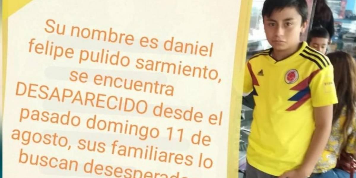 Niño desapareció en centro recreativo de Bogotá tras recibir extraños mensajes