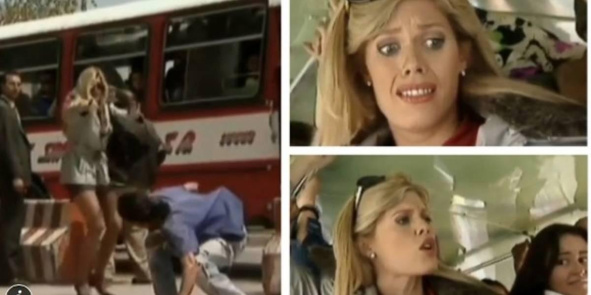 Escena de 'La peliteñida' en bus indignó a los televidentes de RCN y esta fue la razón
