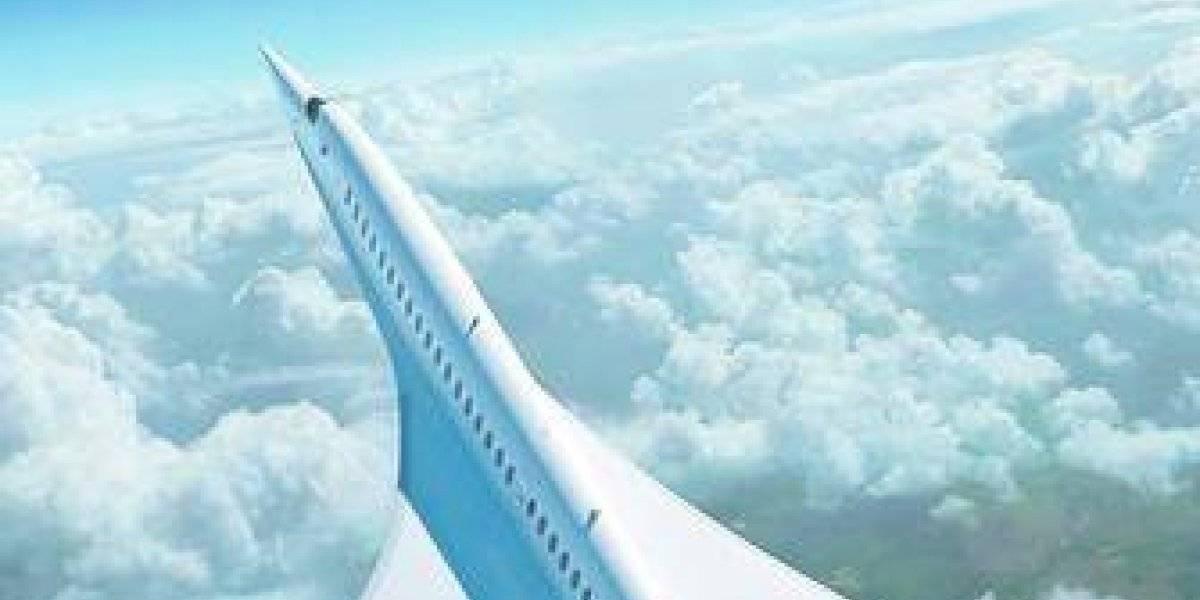 Overture: así es el avión que aspira a ser el más rápido del mundo sin huella de CO2