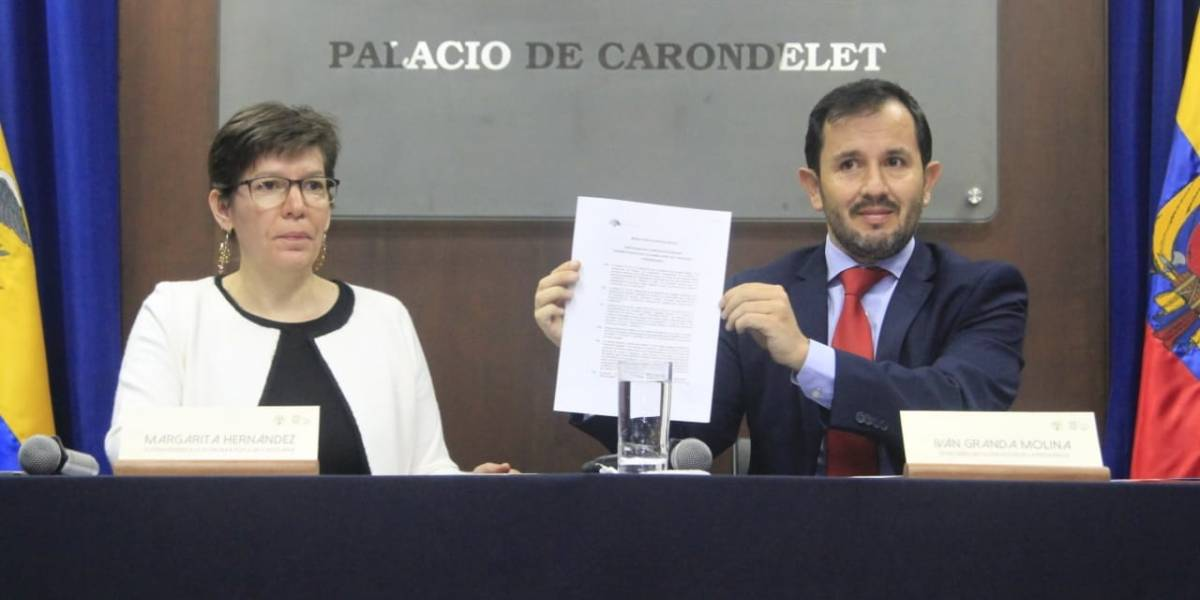 Ecuador desclasifica caso Coopera de lavado de activos durante anterior gobierno