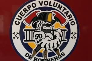 Logotipo de la 50 Compañía de los Bomberos Voluntarios.