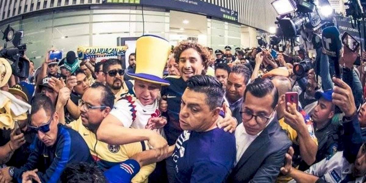 VIDEO: Así fue la llegada de Guillermo Ochoa a la Ciudad de México