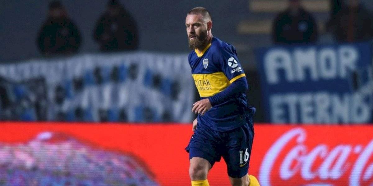 El amargo debut de Daniele de Rossi en Boca Juniors: Anotó pero quedó eliminado en la Copa Argentina
