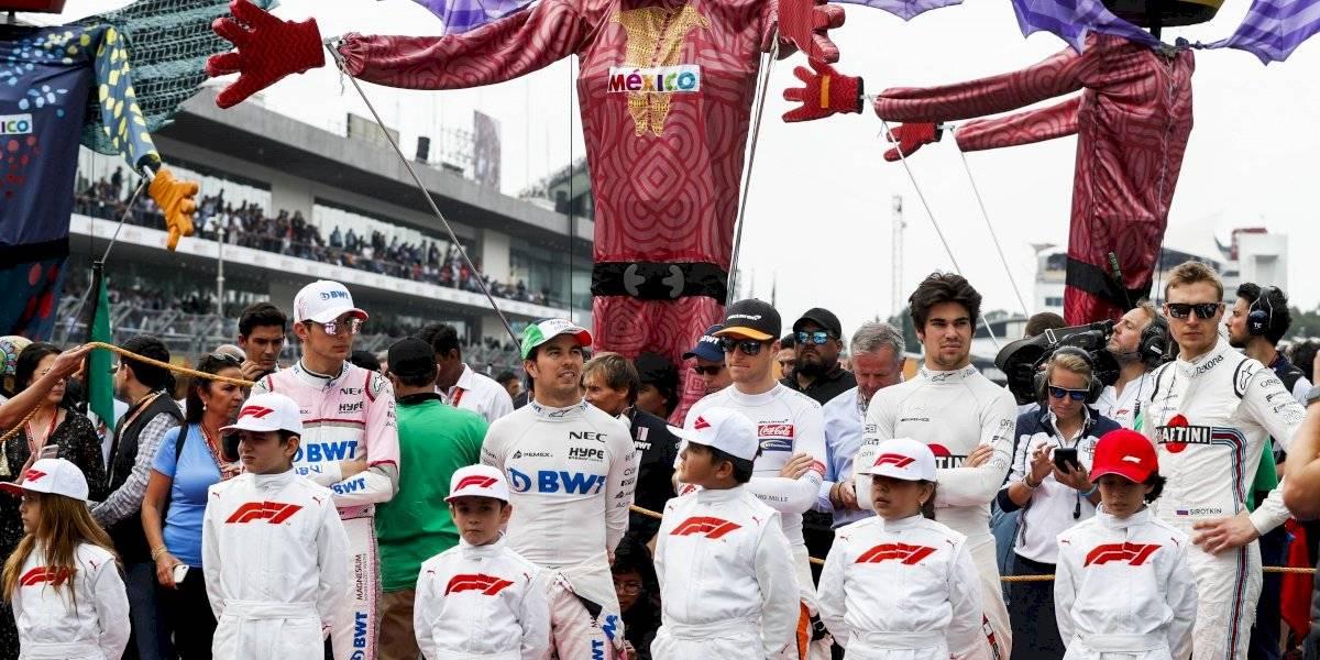 Se buscan 'grid kids' para el Gran Premio de México de F1