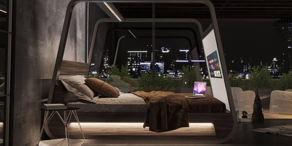 Esta lujosa cama inteligente incluye casi todo lo que necesita tu habitación