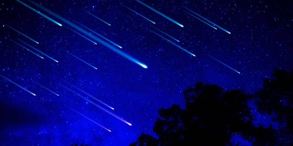 """Así es como se vio una de las lluvia de estrellas """"perseidas"""" en toda su gloria"""