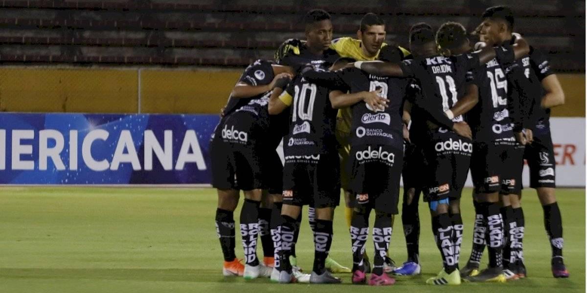 Independiente del Valle se ubica entre los cuatro mejores de la Copa Sudamericana