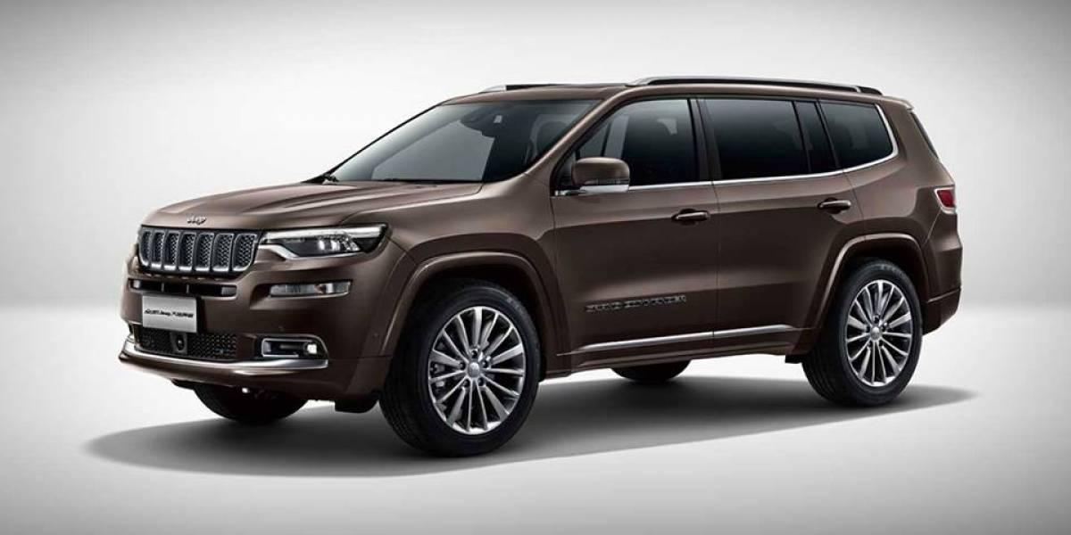 Jeep Grand Commander podría convertirse en un producto Chrysler