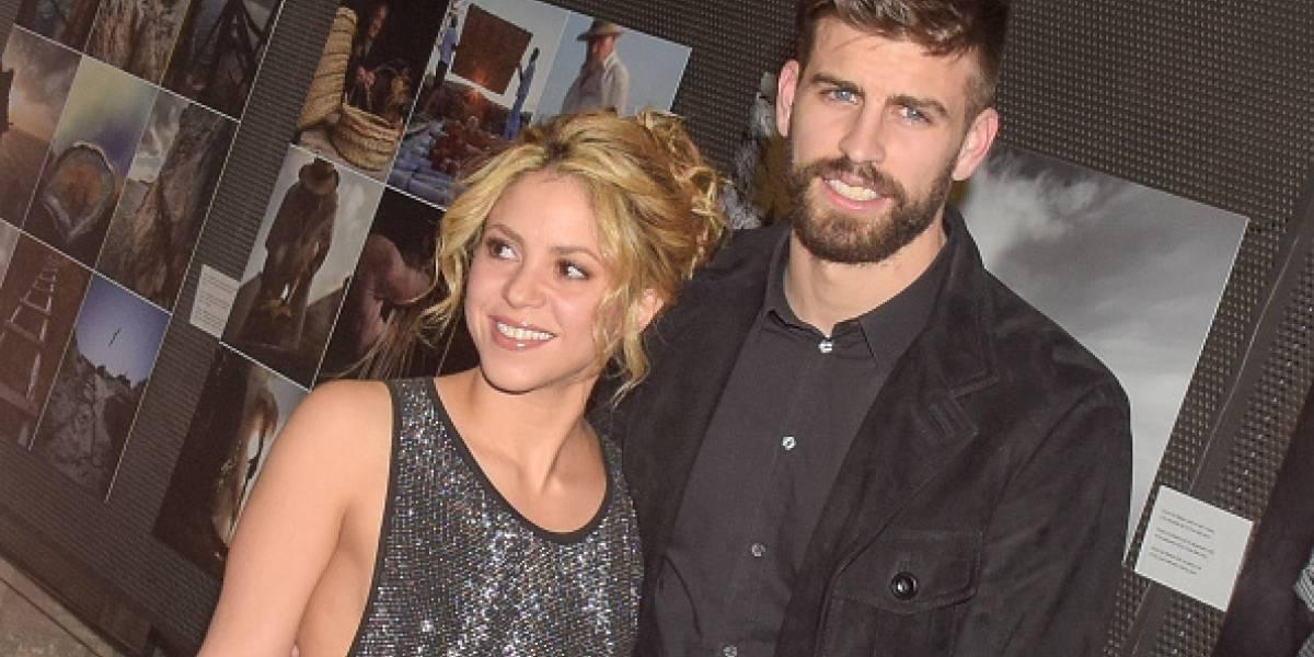 La foto de Shakira y Piqué en tremenda fiesta bebiendo se filtró, ¿desenfrenados?