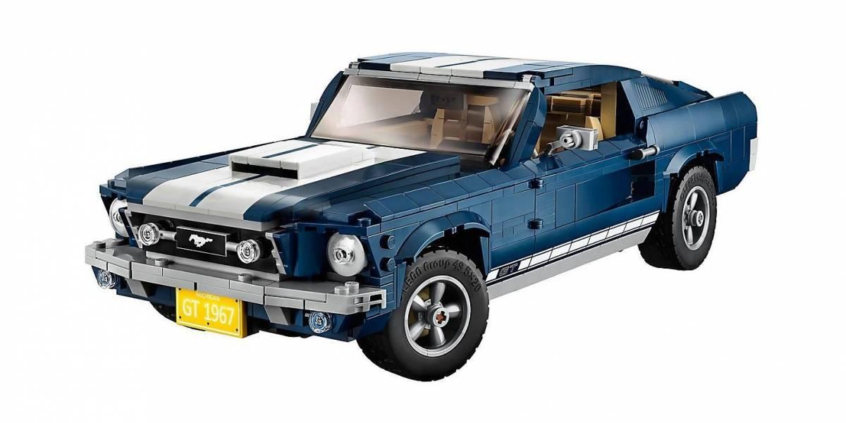 Un Ford Mustang Fastback 1967 de Lego