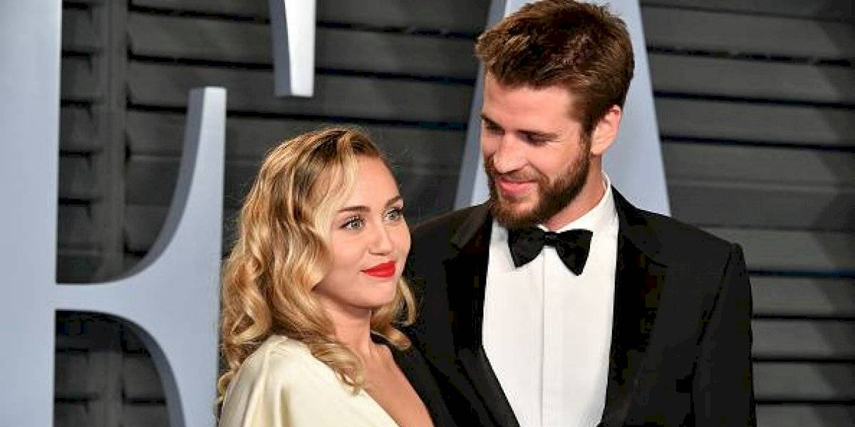 Liam Hemsworth envío este mensaje a su expareja, Miley Cyrus