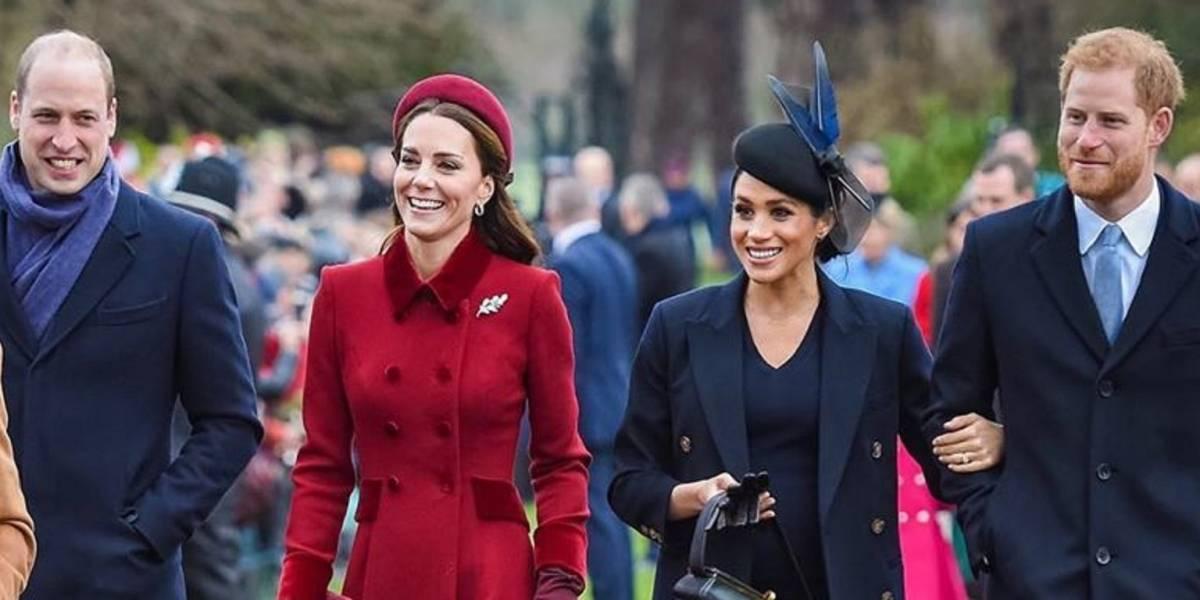 Kate Middleton y William evitan a Meghan Markle y Harry durante sus vacaciones de verano