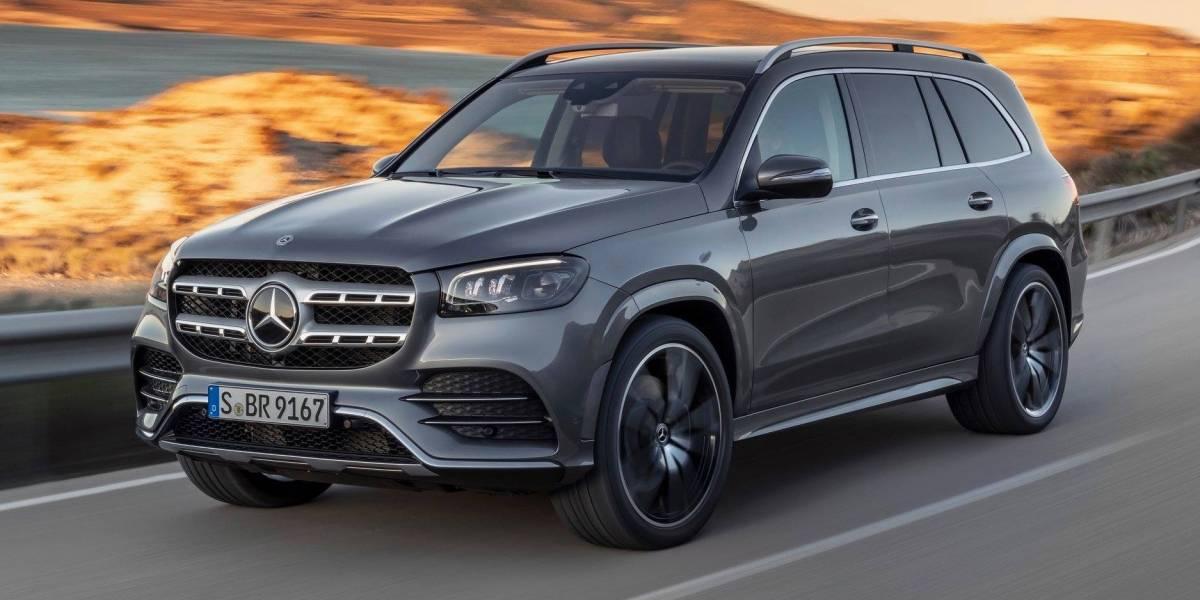 ¡Con todo! Mercedes-Benz GLS 2020