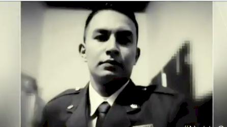 Emotiva despedida de militar Sebastián Gamboa en su pueblo natal