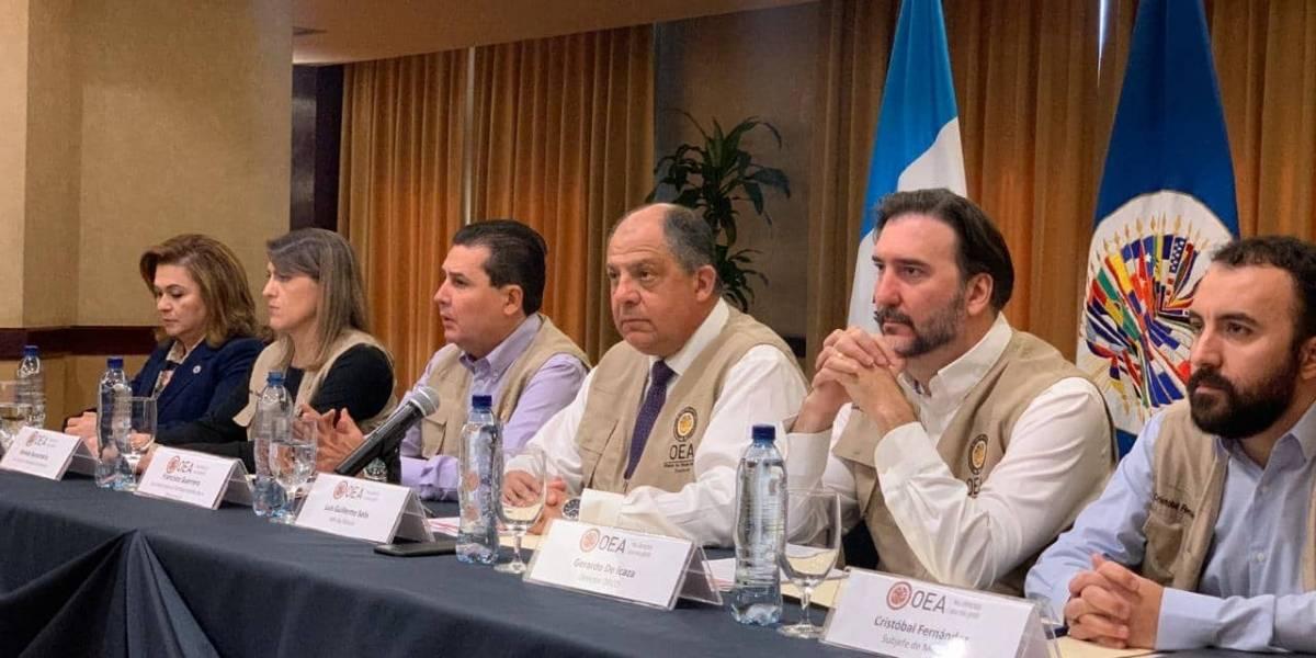 OEA destaca abstencionismo en segunda vuelta electoral