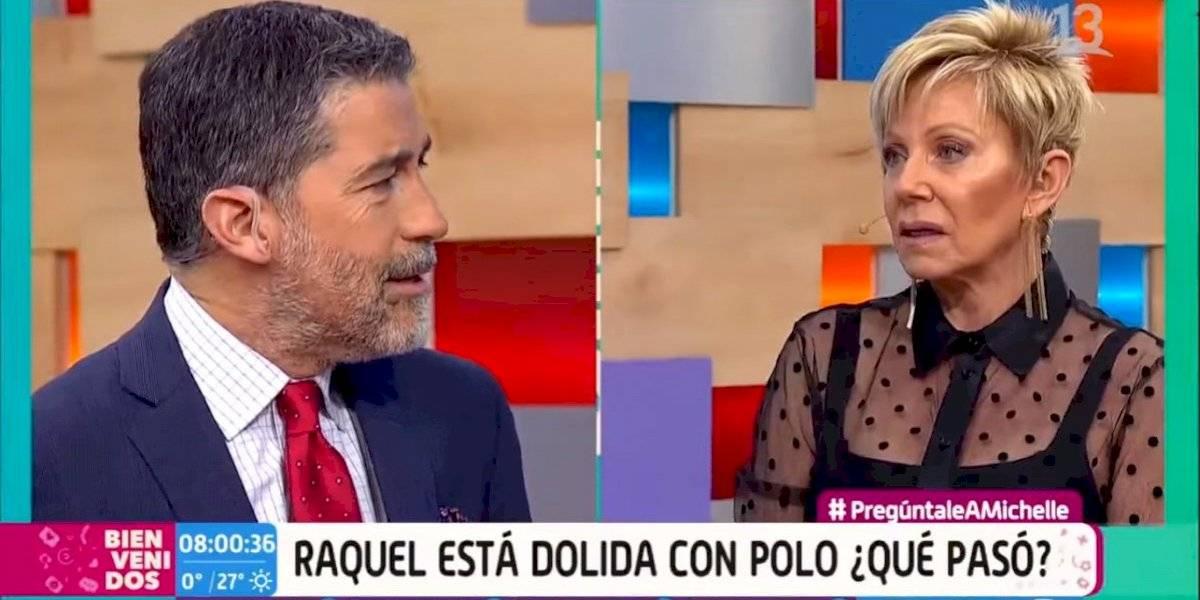 """""""Qué desagradable"""": Raquel Argandoña protagonizó incómodo momento con Polo Ramírez en """"Bienvenidos"""""""