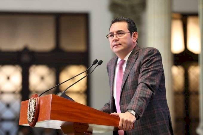 CC revoca amparo provisional a solicitud del presidente Jimmy Morales. Gobierno de Guatemala