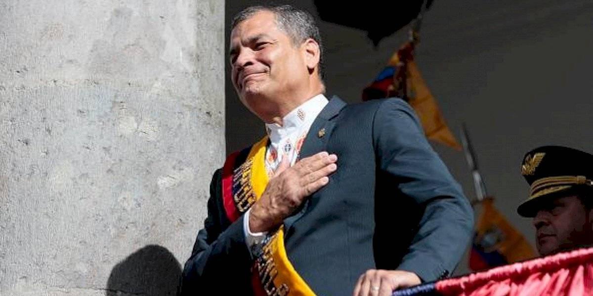 Rafael Correa quiere volver para defender al Ecuador