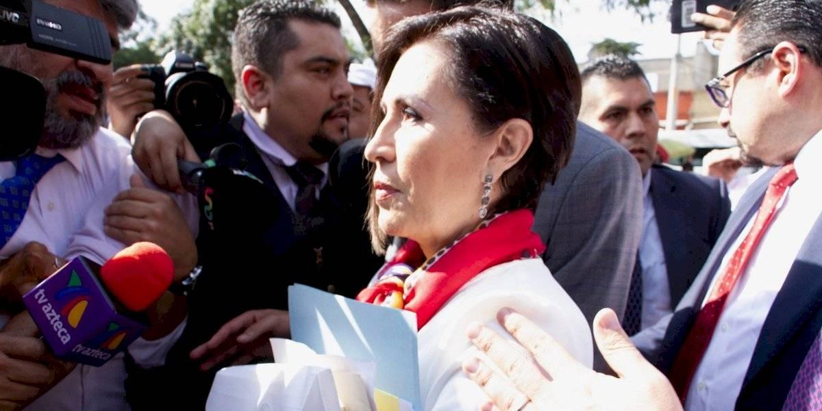 Juez decidirá si declara formalmente presa a Rosario Robles: AMLO