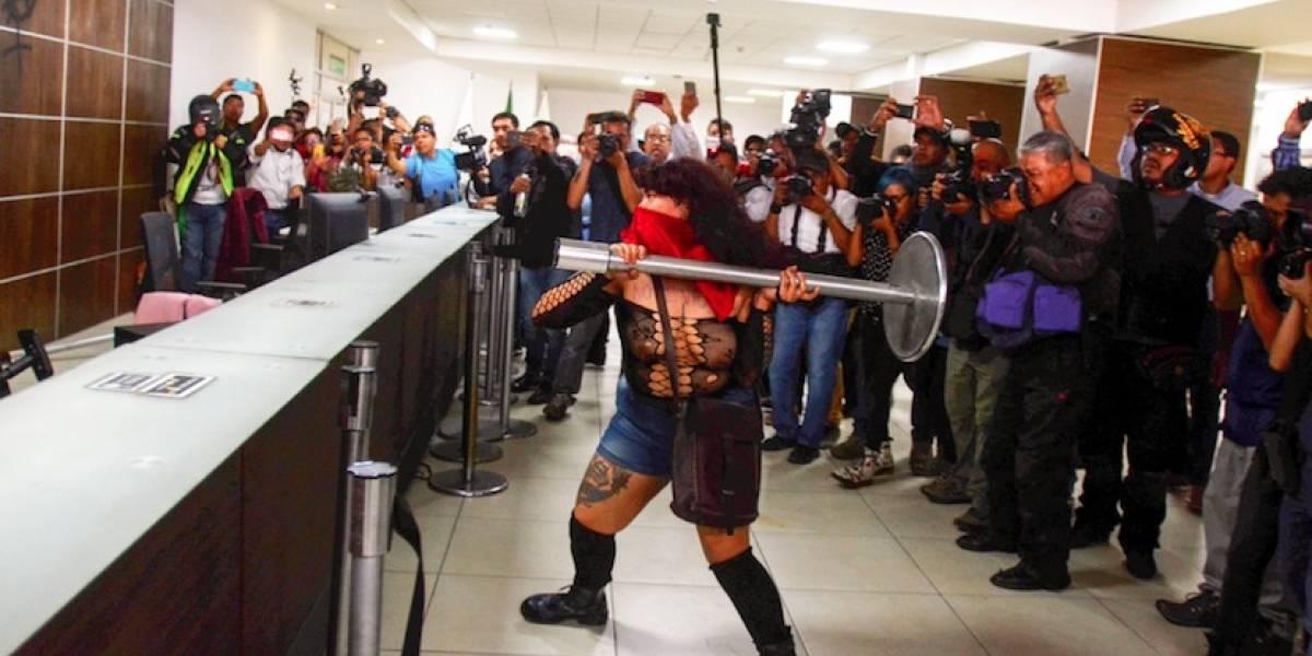 Identifican a presuntos provocadores en protesta de mujeres en CDMX