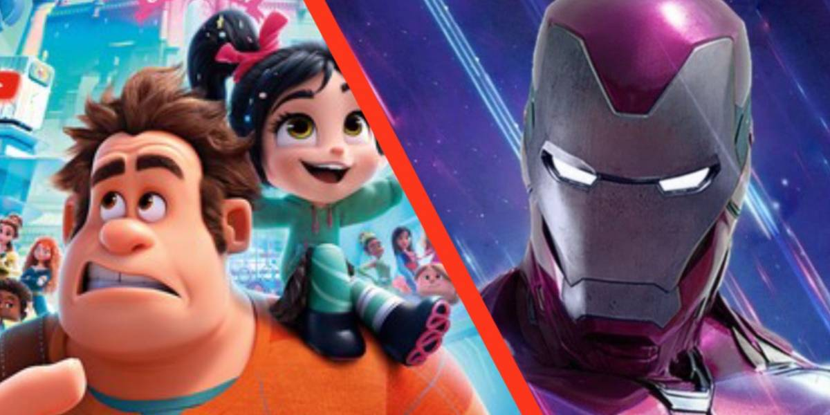 Escena de Ralph 2 pudo haber adelantando el final de Avengers: Endgame